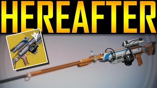 Destiny - HEREAFTER! EXOTIC SNIPER RIFLE!