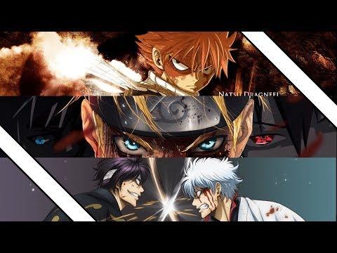 Gintama VS Naruto VS FairyTail   Opening 1-21