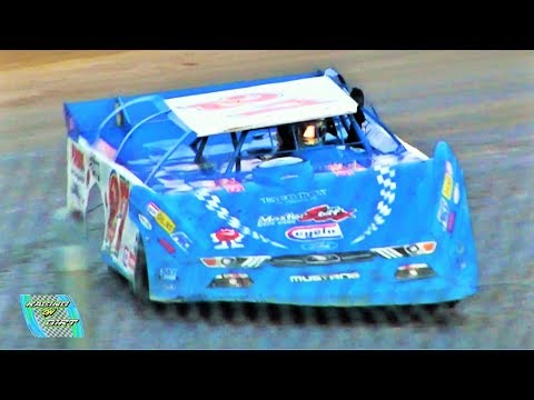Late Model 3rd Heat 9-3-17 Merritt Speedway
