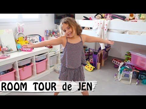 ROOM TOUR de JEN et cadeaux de Fête des Pères / Family Vlog