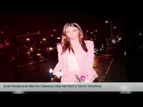 Emily Ratajkowski Marries Sebastian Bear McClard in Secret Ceremony