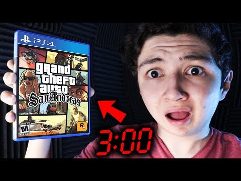 NOOB JUEGA GTA SAN ANDREAS A LAS 3:00 AM... GRAND THEFT AUTO SA thumbnail