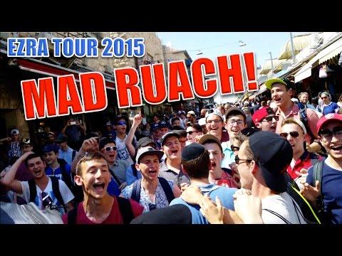 Ezra Tour 2015: Ruach, Dancing ect