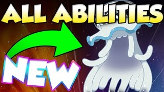 ALL NEW ABILITIES IN POKEMON SUN AND MOON! Pokemon Sun and Moon Exclusive Abilities
