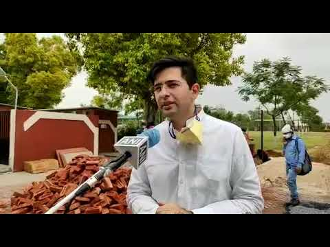 DJB VC Raghav Chadha visits 10,000 bed covid care centre at Radha Soami Satsang Beas to inspect wate from YouTube · Duration:  2 minutes 42 seconds