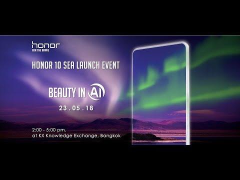 Honor 10 SEA Launch Event