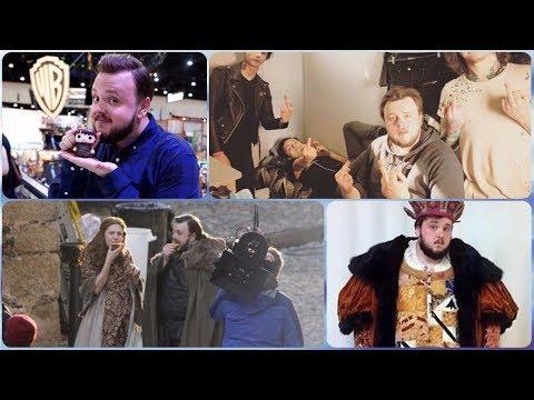 John Bradley ( Samwell Tarly of Game of Thrones) Rare Photos | Family | Friends | Lifestyle