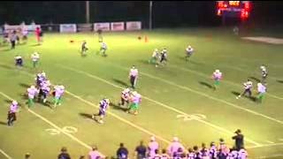 John Walker SCS QB #7 Highlights - SCS vs Dixie  Sept 7 2012
