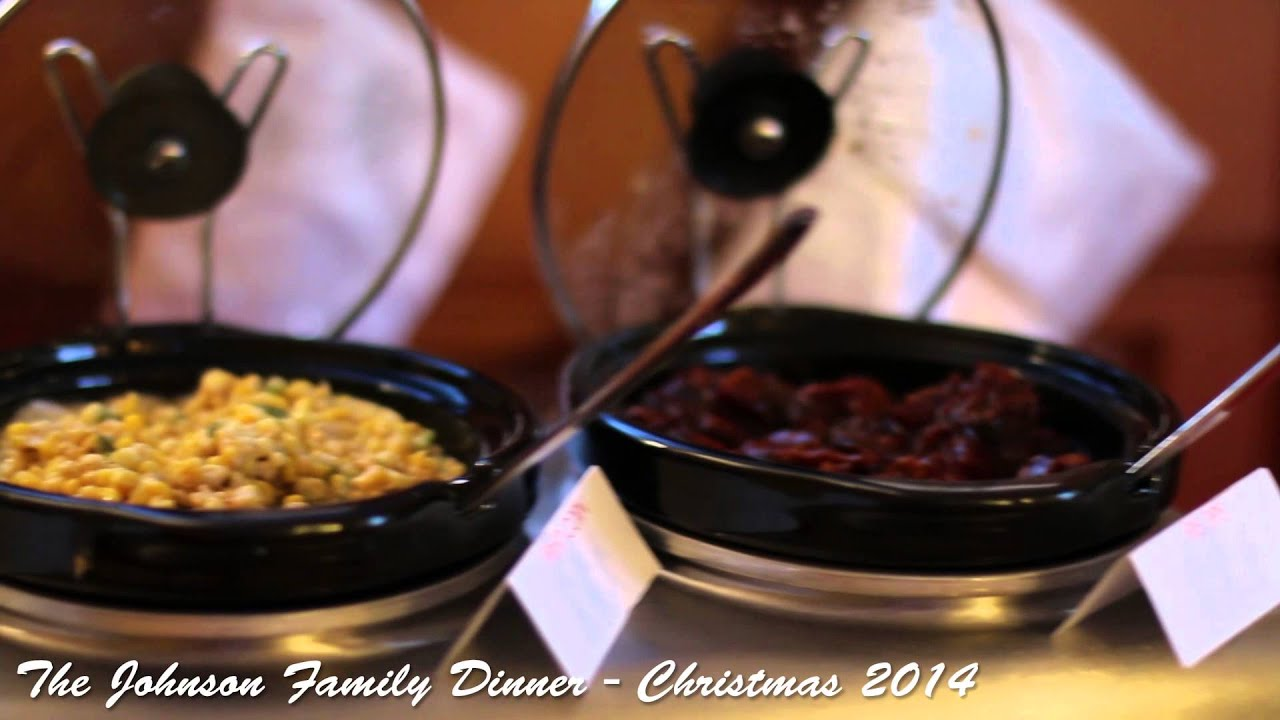 The Johnson Family Dinner - Christmas 2014 - YouTube