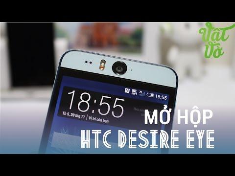 [Review dạo] Mở hộp và đánh giá nhanh HTC Desire EYE - Camera trước 13MPx, chống nước IPX7