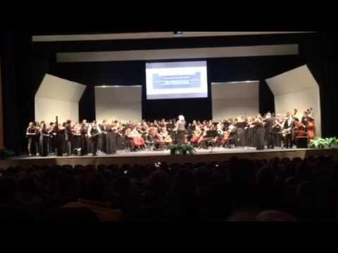 James F Byrnes Spring orchestra 2017