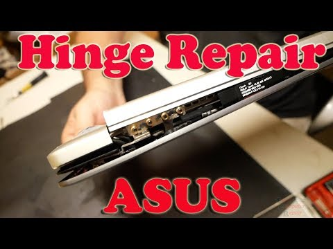 Asus ZenBook VX5015 Tear Down - Hinge Top Lid Repair and Replacement