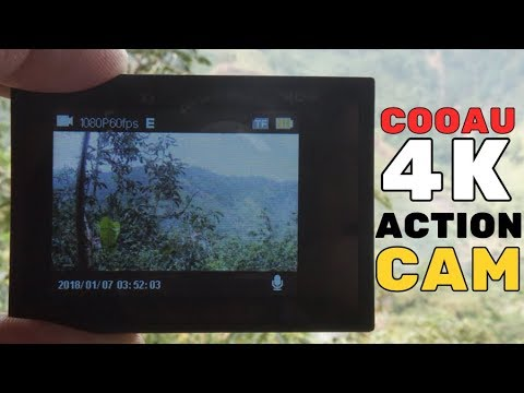 COOAU 4K EIS 20MP WiFi Action Camera Review