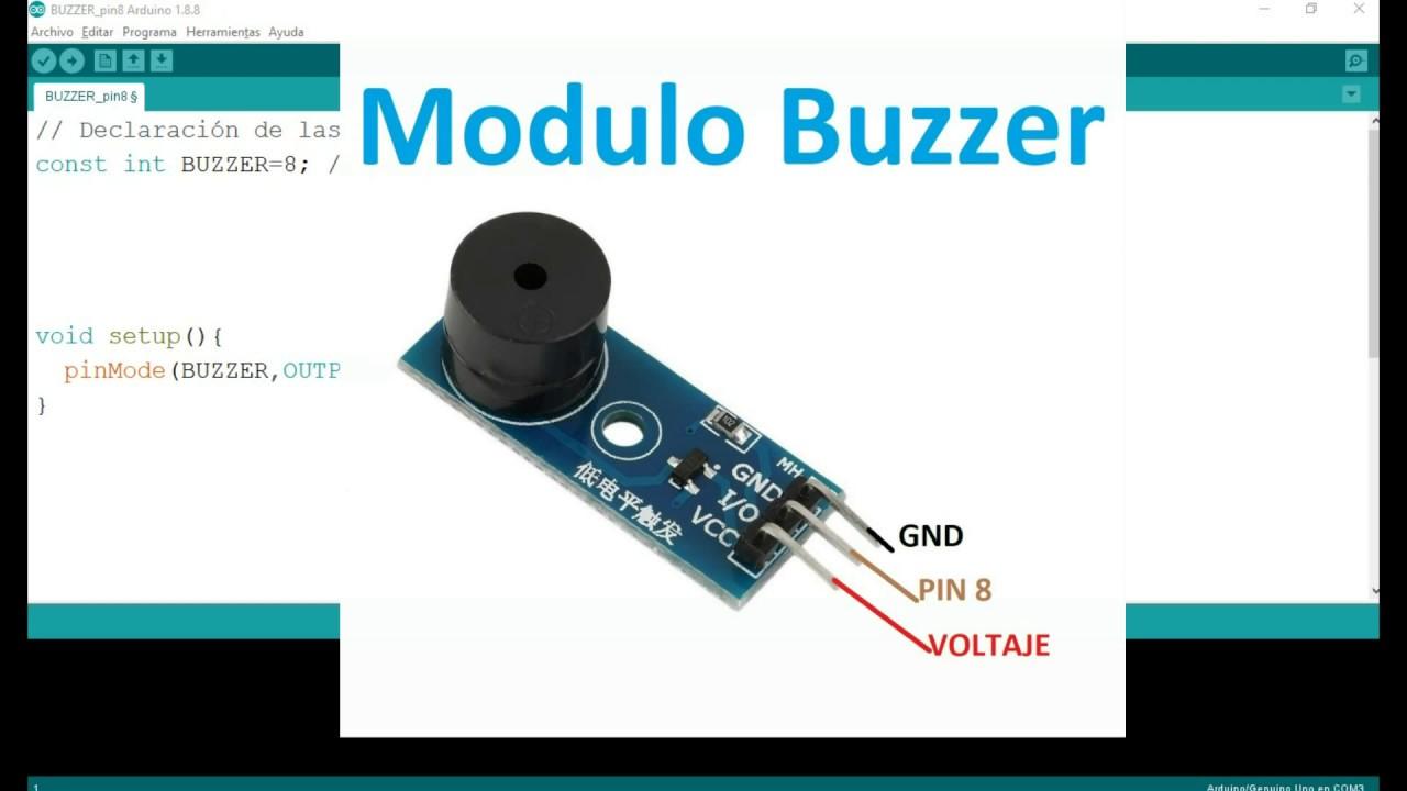 Modulo Buzzer Con Arduino