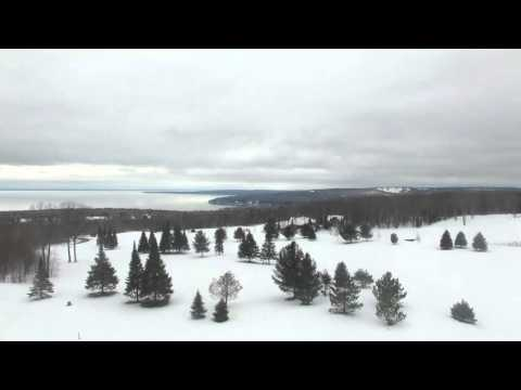 Drone video from Bayfield, WI