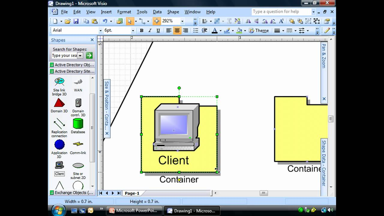 Active Directory Visio Diagram Example David Brown 990 Wiring Logical Network Diagrams Youtube