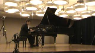 Alban Berg- Sonata, Op. 1- Sam Kinsey