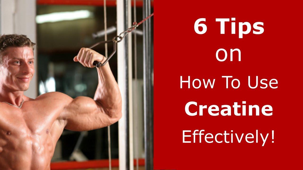 How to take creatine 42