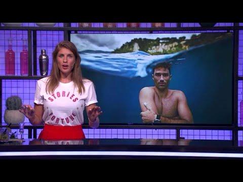 Deze Fransman dook 40 meter diep zonder zuurstoftank! - RTL LATE NIGHT/ SUMMER NIGHT