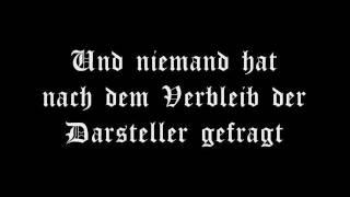 eisregen - Das Letzte Haus am Ende der Einbahnstraße (Lyrics Video)