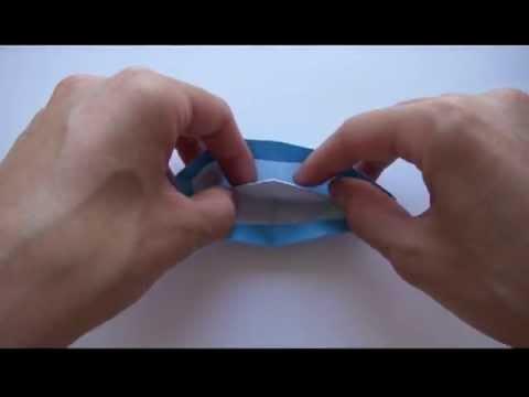 Бумажная Лодка оригами