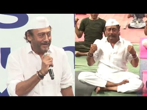 Jackie Shroff's FUNNIEST Yoga Teaching