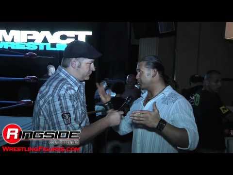 Kazarian Interview Jakks Impact Wrestling SDCC 2011