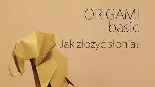 ORIGAMI BASIC - Podstawy Origami - Jak złożyć słonia?