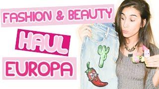 Fashion & Beauty Haul Europa | Primark, H&M, Boots, Topshop y más! - Fashion Diaries(MIRÁ EL ÚLTIMO VIDEO: Preguntas y respuestas ➜ https://youtu.be/XaCFjvANf08 ❤❤❤ ABRÍ PARA MÁS INFORMACIÓN ❤❤❤ Pasá por el blog ..., 2016-03-18T21:00:00.000Z)