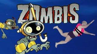 Zombis en X-caret Plantas contra Zombis