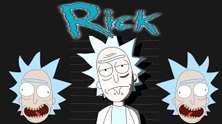Drawing Rick Sanchez (Rick & Morty)