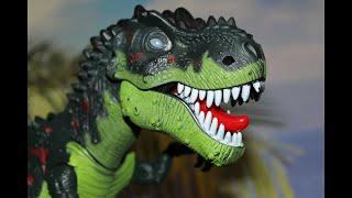 Dinozaurul T-Rex, cel mai groaznic dinozaur, este îmblânzit la Bogdan's Show