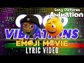"""watch he video of """"Good Vibrations"""" by Ricky Reed   THE EMOJI MOVIE"""