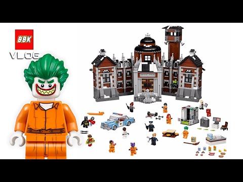 Lego Super Heroes Batman Movie Arkham Asylum 70912 Quick Review