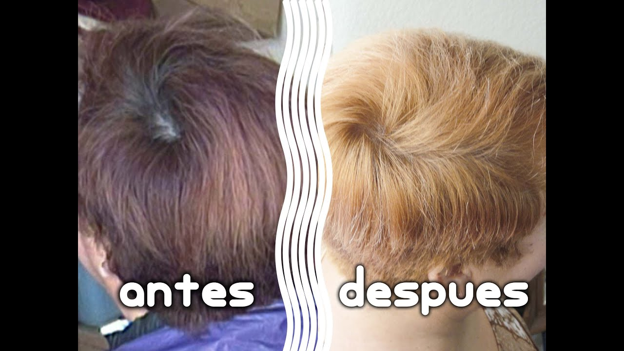 Como Hacer Una Limpieza De Color En El Cabello Shampoo Decolorante Youtube
