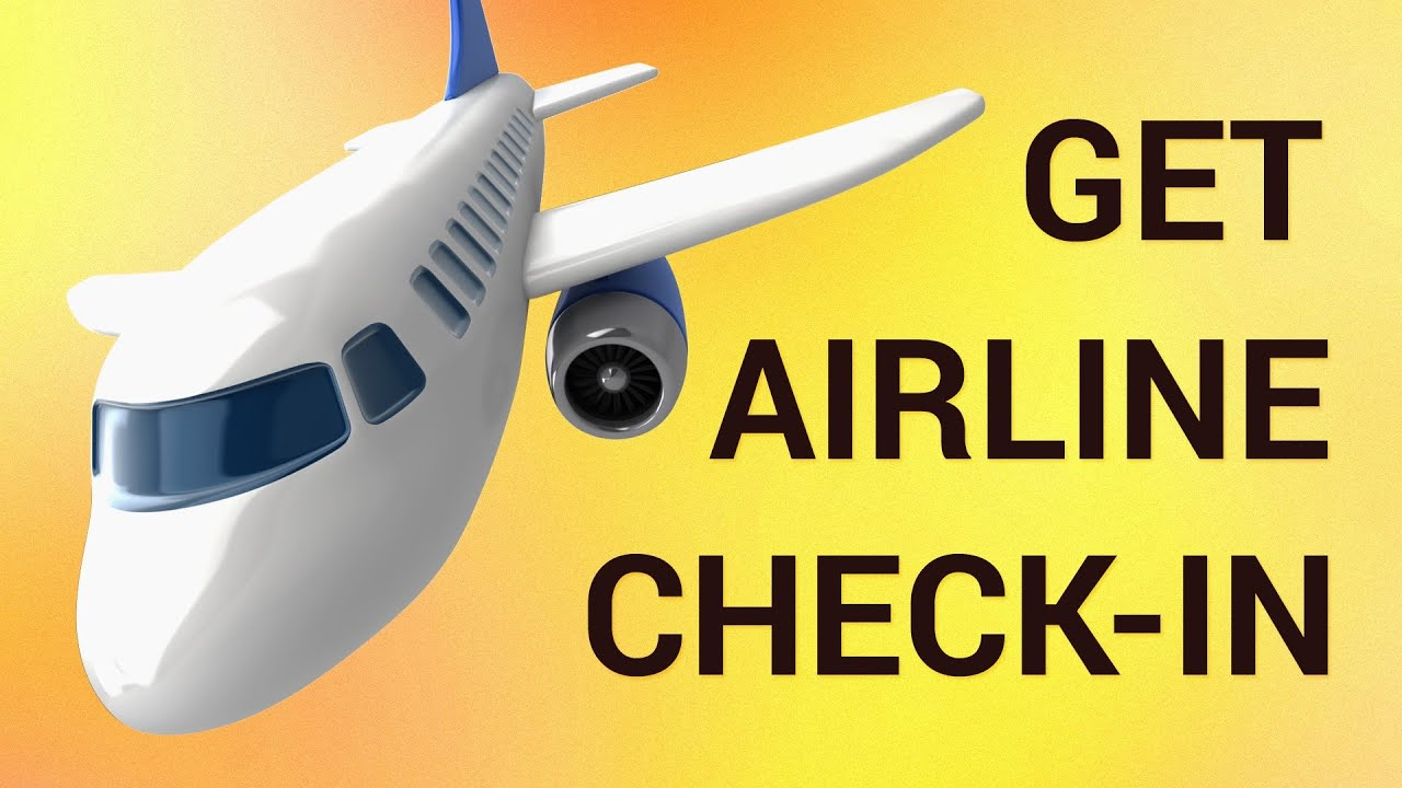 How to Get Airline Check-in Online