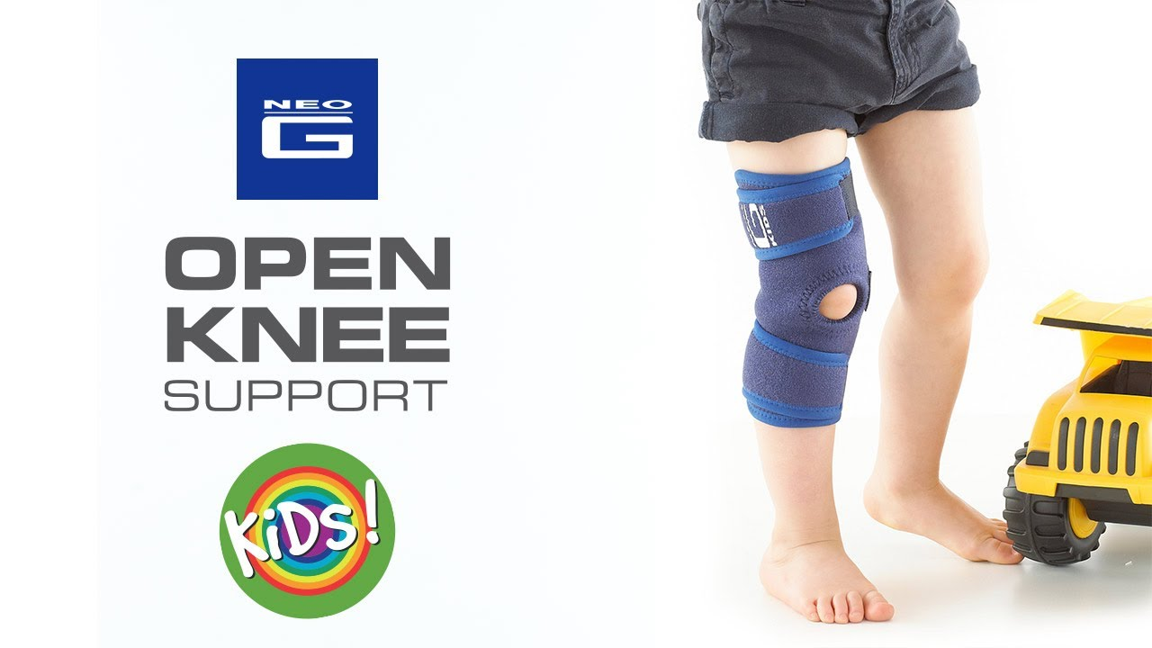 95782c953f Neo G Kids Open Knee Support // How to Apply Guide - YouTube