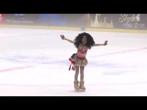 Moana Skating Asia 2018