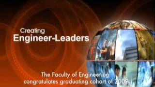 2009  Faculty of Engineering Commencement Video
