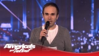 Awkward Comedian Taylor Williamson Makes Us Laugh - America's Got Talent