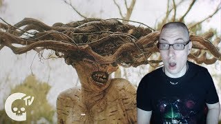 Reacting to The Birch | Scary Short Horror Film | Crypt TV