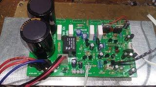 Test mạch sub siêu trầm bass 40 nhôm lớn về Bình Chánh - HCM chạy nguồn 40 - 0 - 40