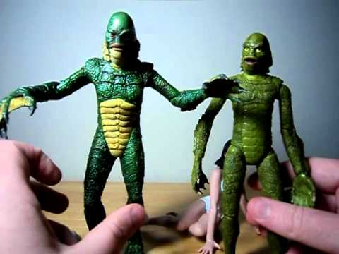 Think, that creature from the black lagoon figure agree