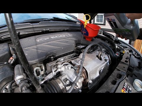 How To Change The Oil On Your 2018 Chevrolet Cruze 1.6L Turbo Diesel