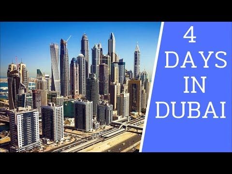 [4K] 4 Days in Dubai. Must See Places on Your First Visit in Dubai - 2019 UAE