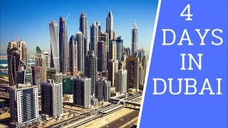 [4k] 4 Days In Dubai. Must See Places On Your First Visit In Dubai   2019 Uae