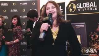 Global InterGold testimonios: Lucero Blasquez, San Petesburgo 2015