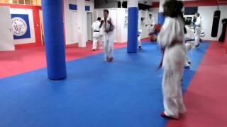 Trening Karate klub Zrinjski Mostar
