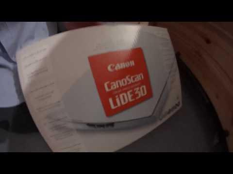 CANON CANOSCAN LIDE 30N1240U DESCARGAR DRIVER