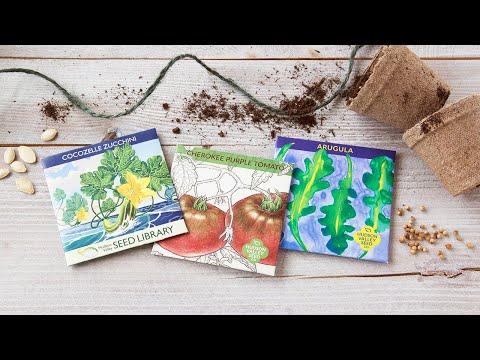 Hudson Valley Seed Library - Heirloom Seeds